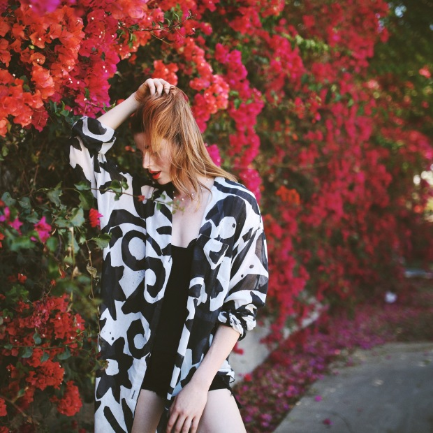 Beauty, Fashion Icon, Vintage, Flowers, Summer