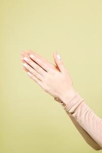 clap, nails, hand, model, surreal, art