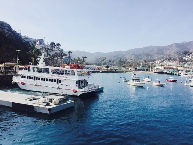 Catalina Island, Boat, Ship, Ocean. Travel, Nature, Mountains, Island Life, Vacation,