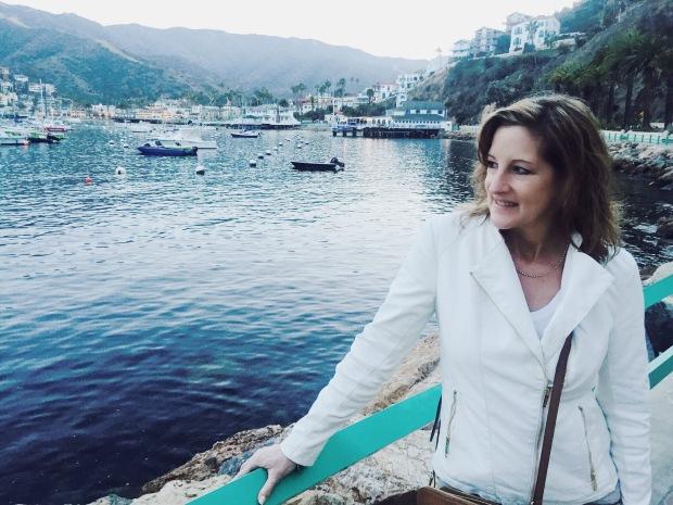 Portrait, Lifestyle, Ocean, Catalina Island, Palm Trees, Yacht, Boating, Smile, Buoy