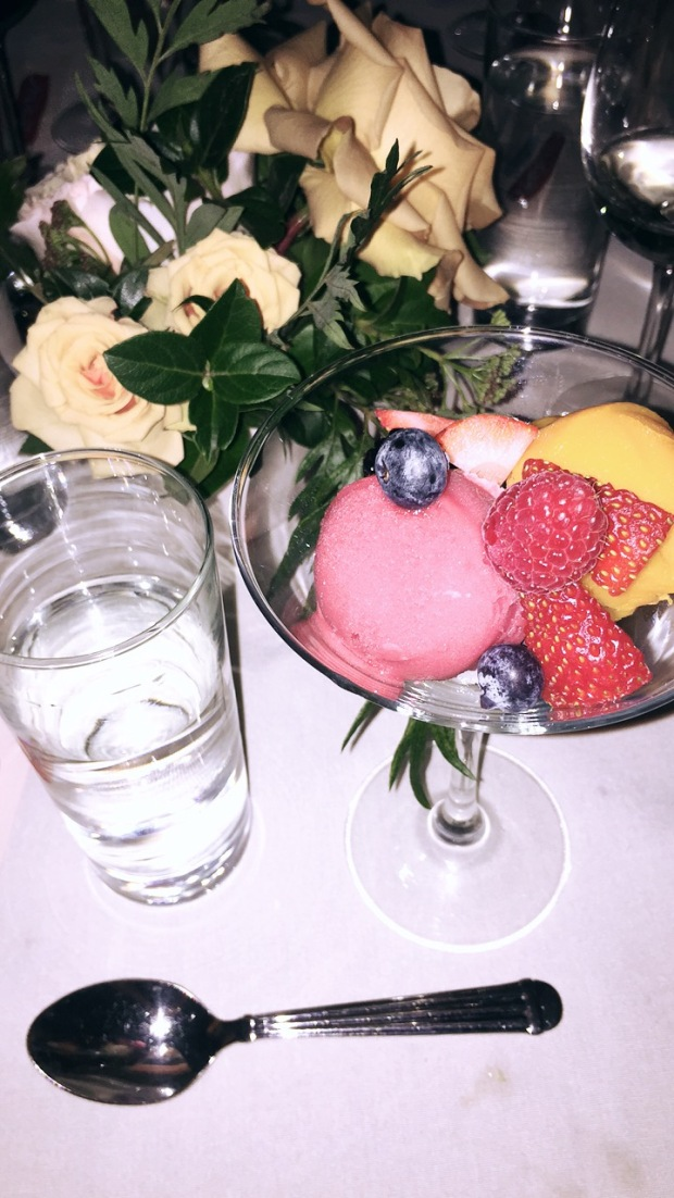 Sorbet, Sherbet, Fancy Feist, Feeling Fancy, Lifestyle, Nom, Good Eats, Treats, Dessert, Colorful, Delicious, Los Angeles Fine Dining,